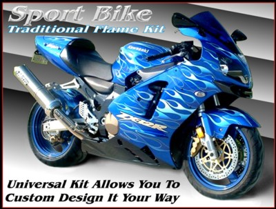 for motorcycle tribal sticker motorcycle news: Motorcycle Stickers Graphics